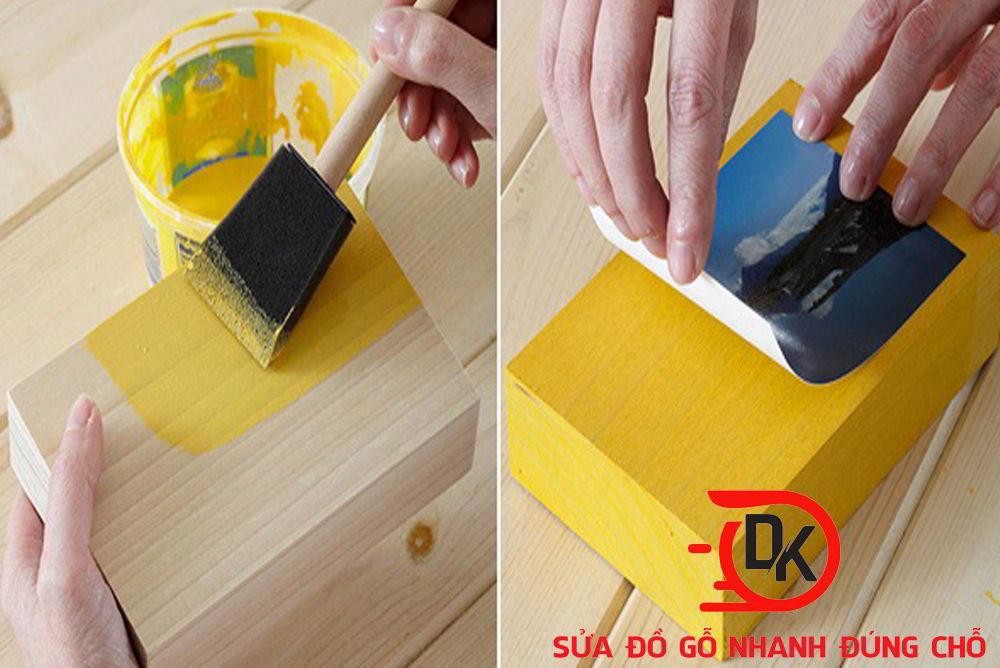 Dịch vụ sơn đồ gỗ tại nhà