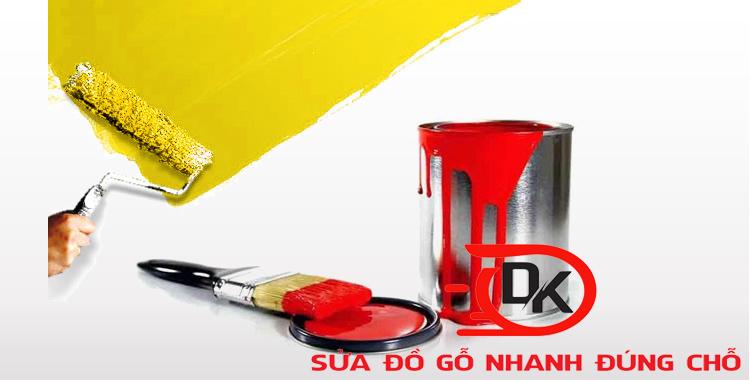 Sử dụng sơn dầu