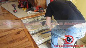 Sửa cầu thang gỗ tại nhà, dịch vụ nội thất Đăng Khôi