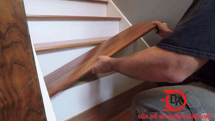Các lỗi cầu thang gỗ thường gặp