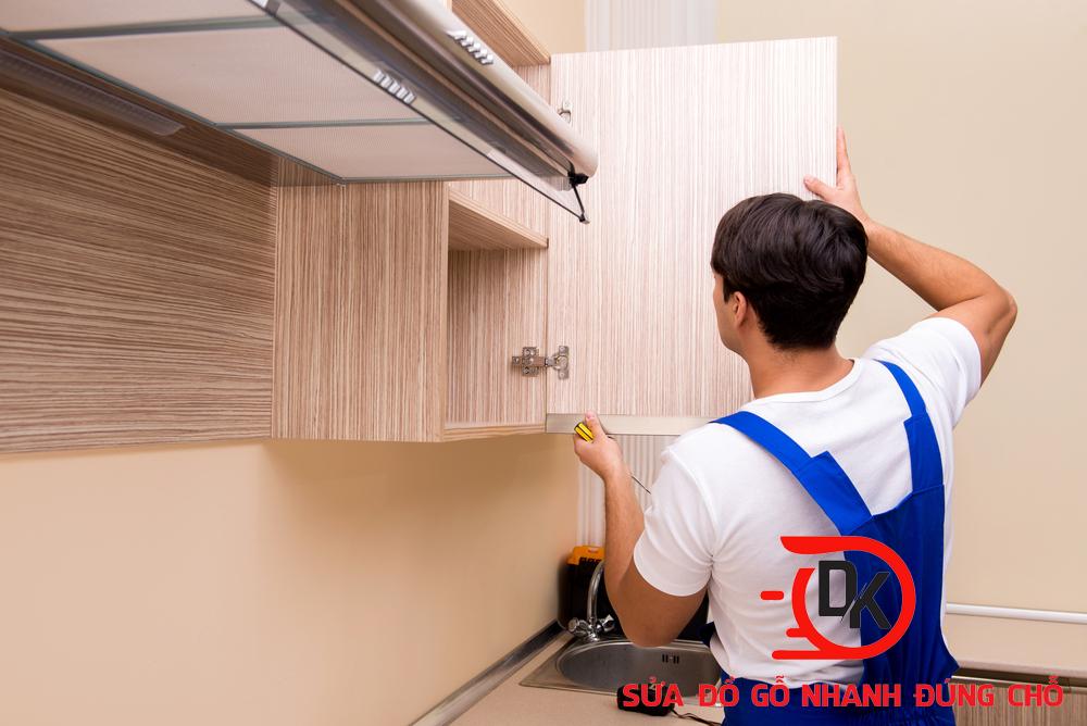 Thợ sửa chữa tủ bếp - Nội thất Đăng Khôi