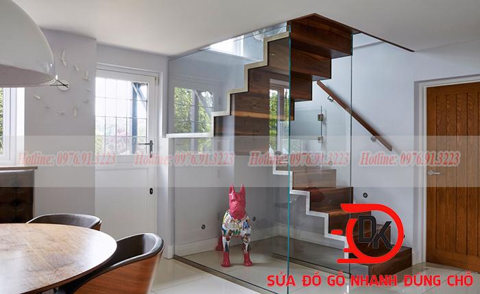 Một trong những vị trí đặt cầu thang