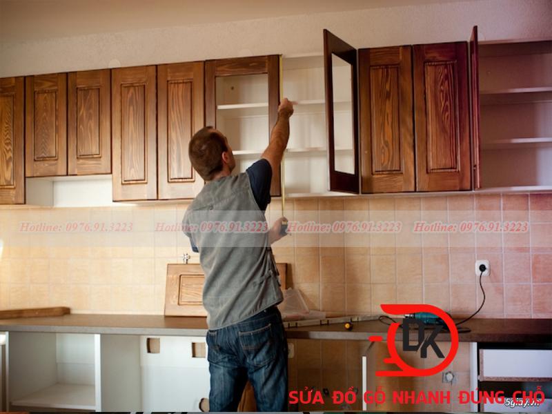 Thợ sửa gỗ Đăng Khôi đảm bảo về chất lượng