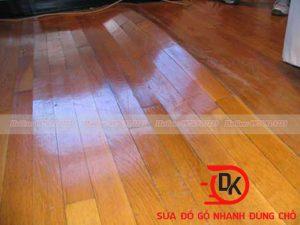 Sửa sàn gỗ công nghiệp bị xước tại nội thất Đăng Khôi