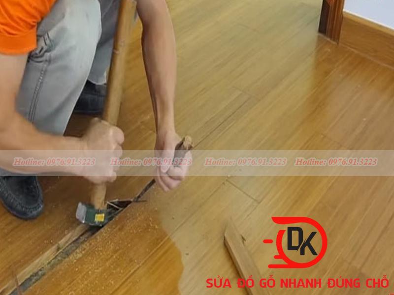 chữa sàn gỗ