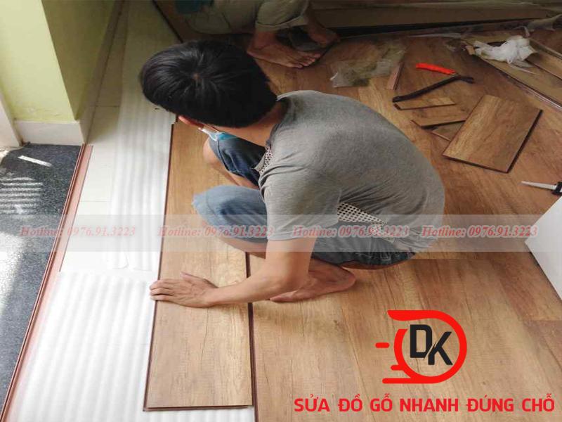 Thi sàn gỗ công nghiệp