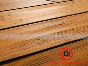 Sửa sàn gỗ bị hở