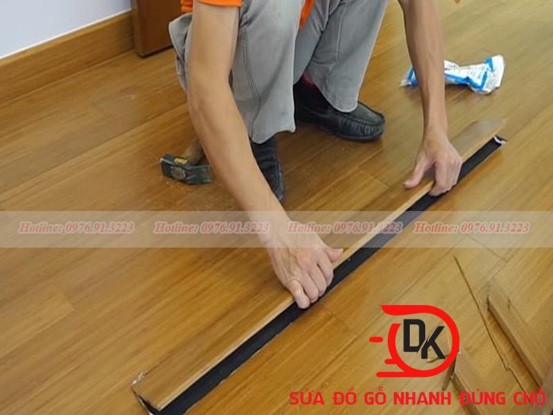 Kỹ thuật lắp sàn không chuẩn xác