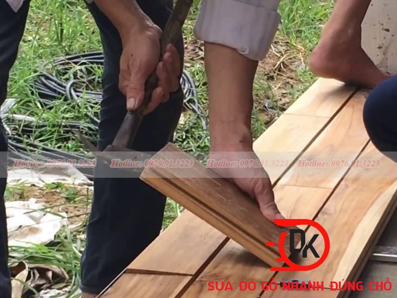 Cách lót sàn gỗ