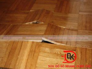Lý giải nguyên nhân sàn gỗ bị cong vênh
