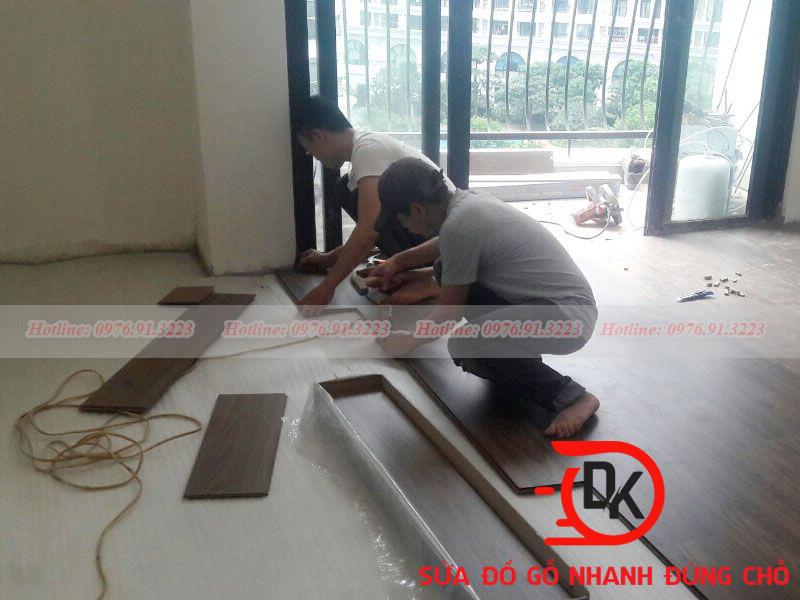 Sửa chữa sàn gỗ công nghiệp