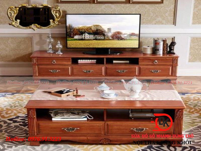 Phòng khách gỗ Lim