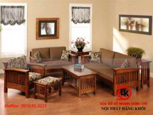 Top 5 mẫu bàn ghế gỗ phòng khách với xu hướng hiện đại và sang trọng