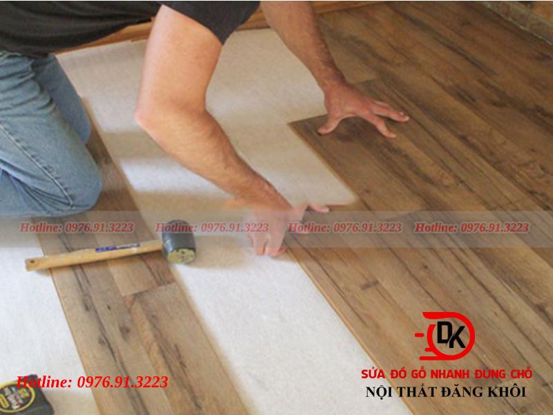 Quy trình tháo dỡ sàn gỗ
