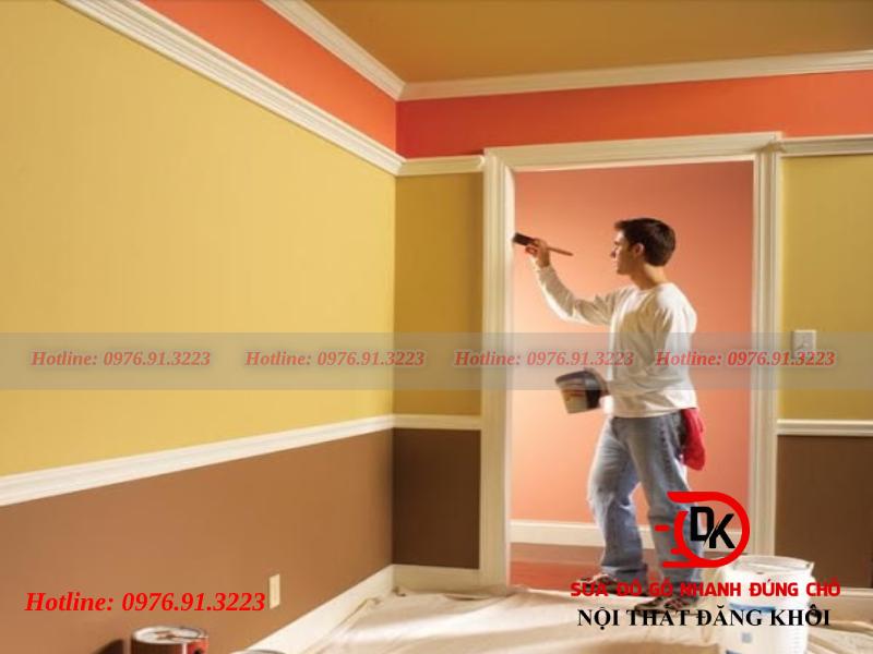 Tự sơn nhà có nên hay không?