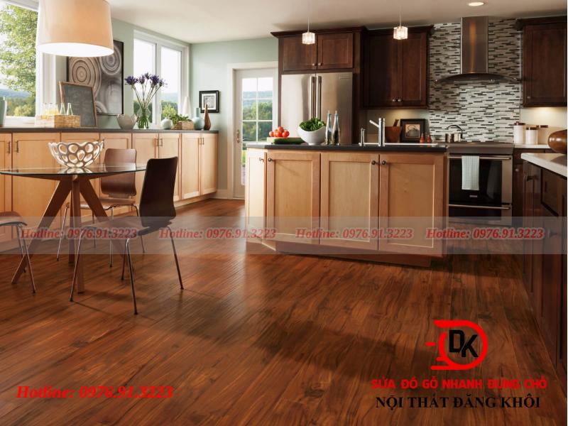 Các loại sàn gỗ dán công nghiệp được ưa chuộng